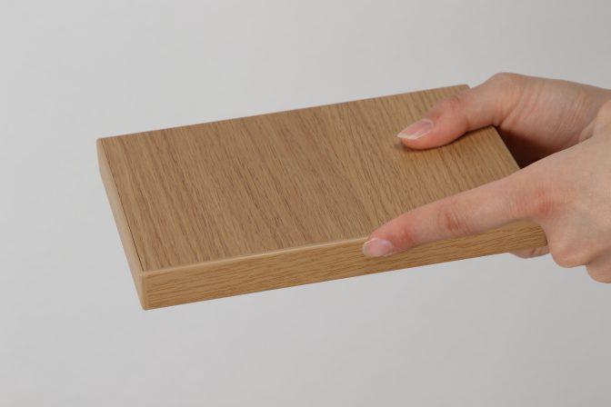 木目柄シートの板の木口