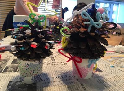 ウッドワンプラザ新宿イベントのクリスマスツリー